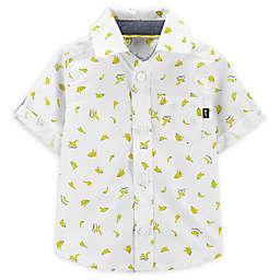 OshKosh B'gosh® Banana Button-Front Shirt in Ivory