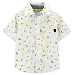 OshKosh B'gosh® Banana Button-Front Shirt in Ivory
