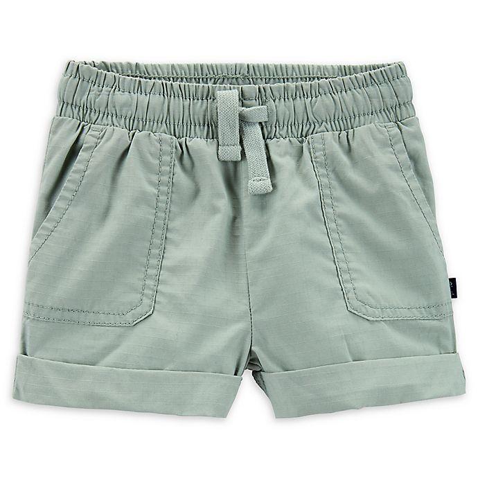 Alternate image 1 for OshKosh B'gosh® Ripstop Shorts in Green