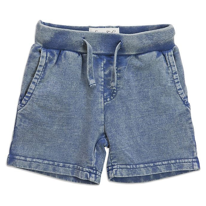 Alternate image 1 for Sovereign Code™ Snow Wash Shorts in Navy