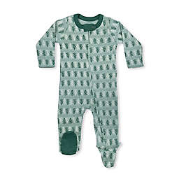 Finn by Finn + Emma® Green Trees Organic Cotton Footie