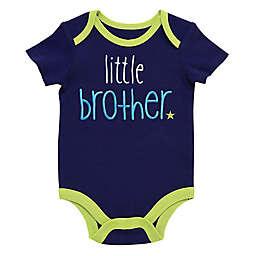 "Start-Up Kids® ""Little Brother"" Bodysuit in Navy/Lime"