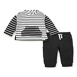 Focus Kids™ 2-Piece Stripe Sweater and Pant Set in Black