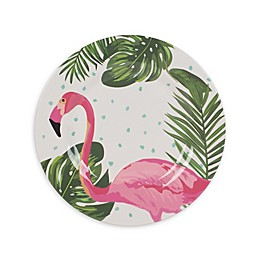 Fitz and Floyd® Tropical Fun Flamingo Melamine Salad Plate