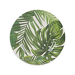 Fitz and Floyd® Tropical Fun Palm Leaves Melamine Salad Plate