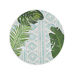 Fitz and Floyd® Tropical Fun Abstract Melamine Salad Plate