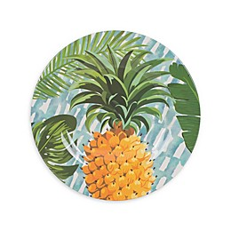 Fitz and Floyd® Tropical Fun Pineapple Melamine Salad Plate