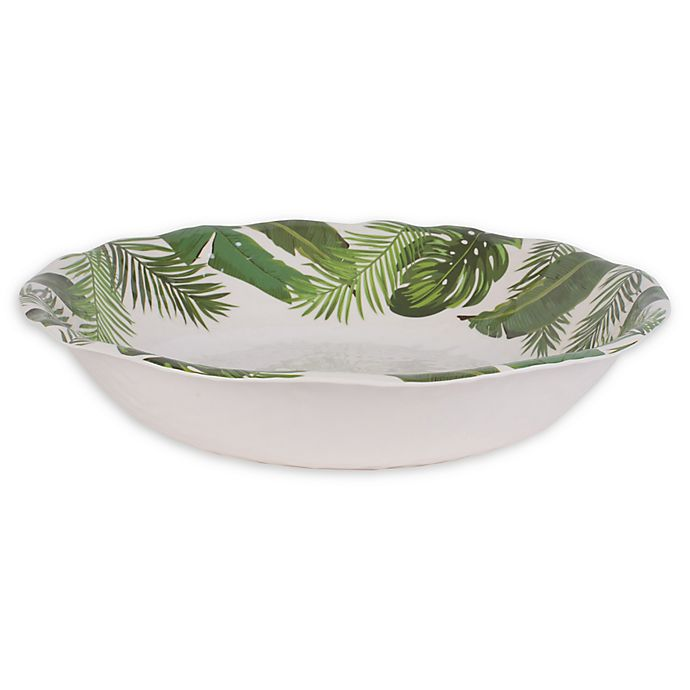 Alternate image 1 for Fitz and Floyd® Tropical Fun Melamine Serving Bowl