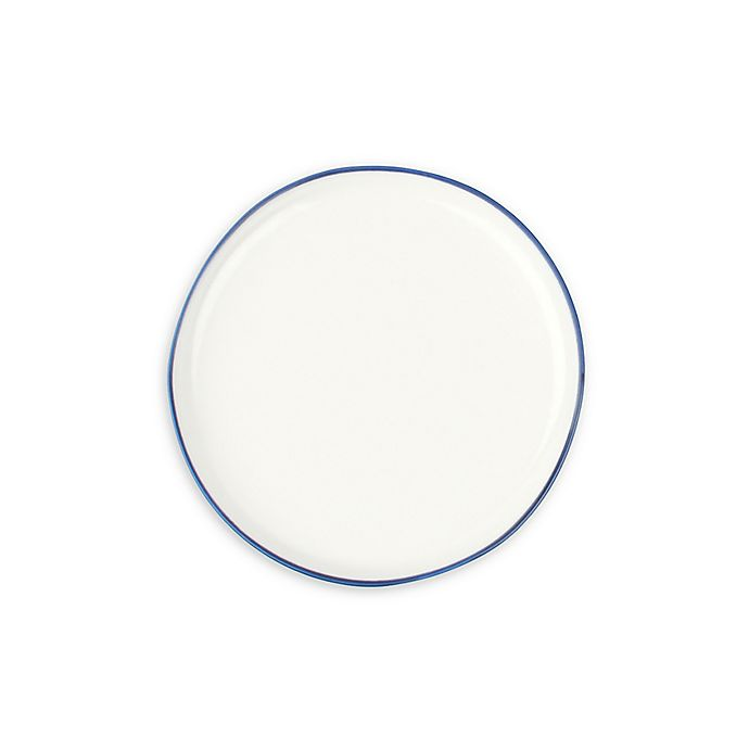 Alternate image 1 for canvas home™ Abbesses Bread and Butter Plates in Blue (Set of 4)