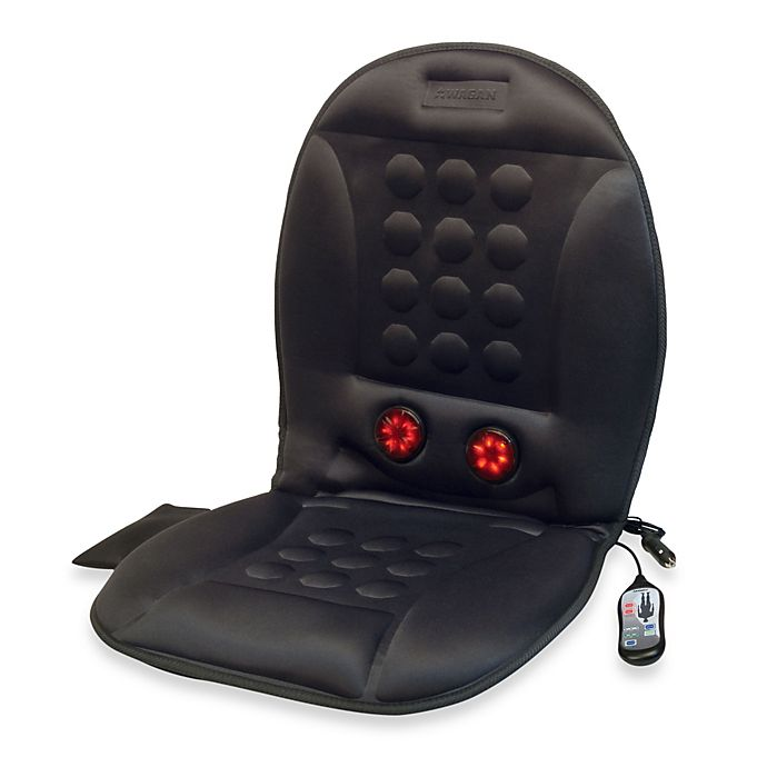 Alternate image 1 for 12-Volt Infra-Heat Massage Cushion