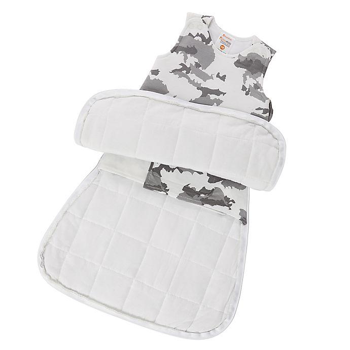 Alternate image 1 for Gunamuna® Size Newborn-3M Clouds 2-in-1 Wonderzip Gunapod Swaddle Sack in Grey