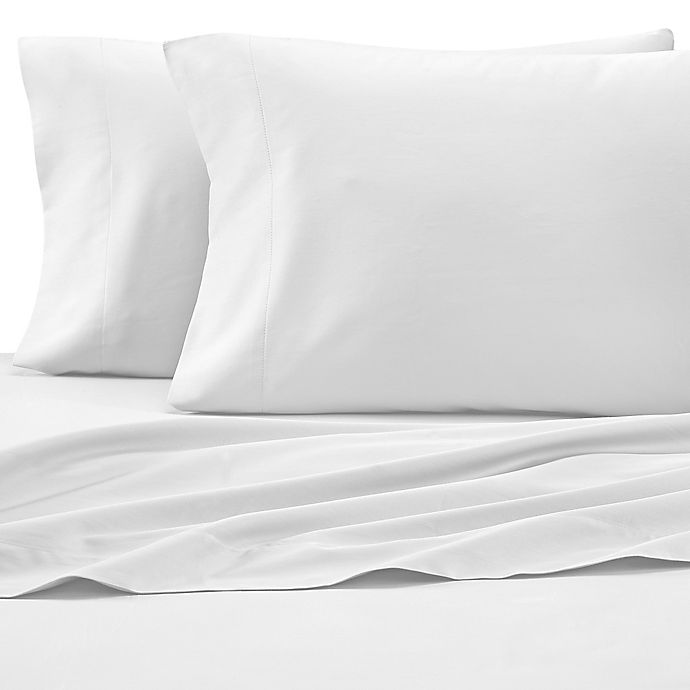 Alternate image 1 for Under The Canopy® HomeGrown™ Organic Twin Sheet Set in White