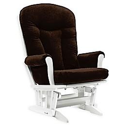 Dutailier® Custom Stella Grande Glider in Brown Fabrics
