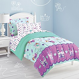 Dream Factory Magical Princess 5-Piece Twin Comforter Set