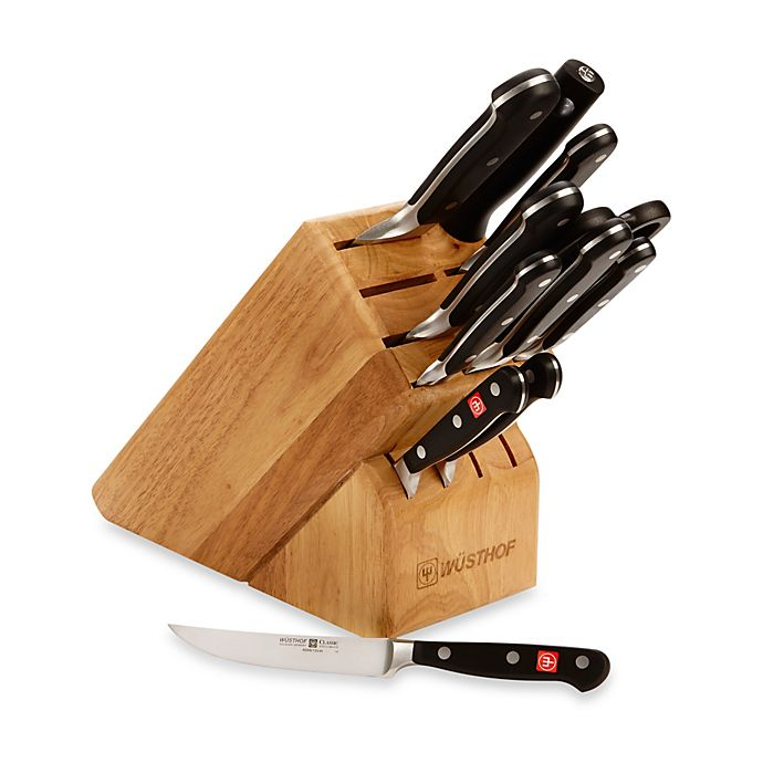 Alternate image 1 for Wusthof® Classic 12-Piece Knife Block Set