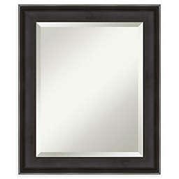 Amanti Art Allure Bathroom Vanity Mirror in Charcoal
