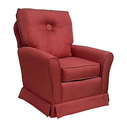 The 1st Chair™ Tate Swivel Glider in Blaze of Glory