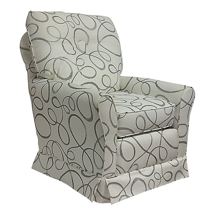 Outstanding The 1St Chair Tate Swivel Glider In Abstract Circle Bed Alphanode Cool Chair Designs And Ideas Alphanodeonline