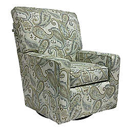 The 1st Chair™ Venus Swivel Glider Chair in Shorline