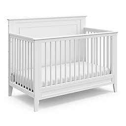 Storkcraft™ Solstice 4-in-1 Convertible Crib in White