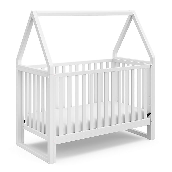 Alternate image 1 for Storkcraft™ Orchard 5-in-1 Convertible Crib in White