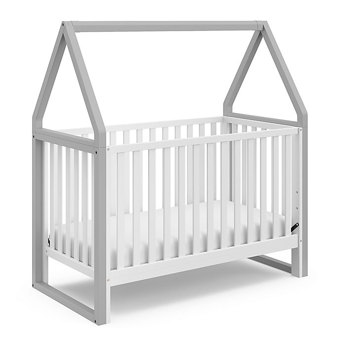 Alternate image 1 for Storkcraft™ Orchard 5-in-1 Convertible Crib in Grey