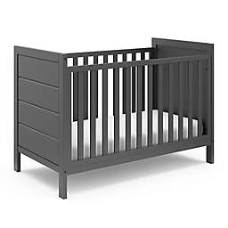 Storkcraft™ Nestling 3-in-1 Convertible Crib in Grey