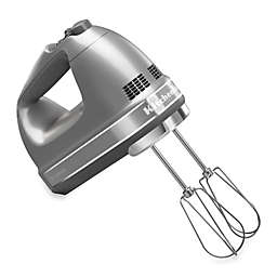 KitchenAid® 9-Speed Digital Hand Mixer in Silver
