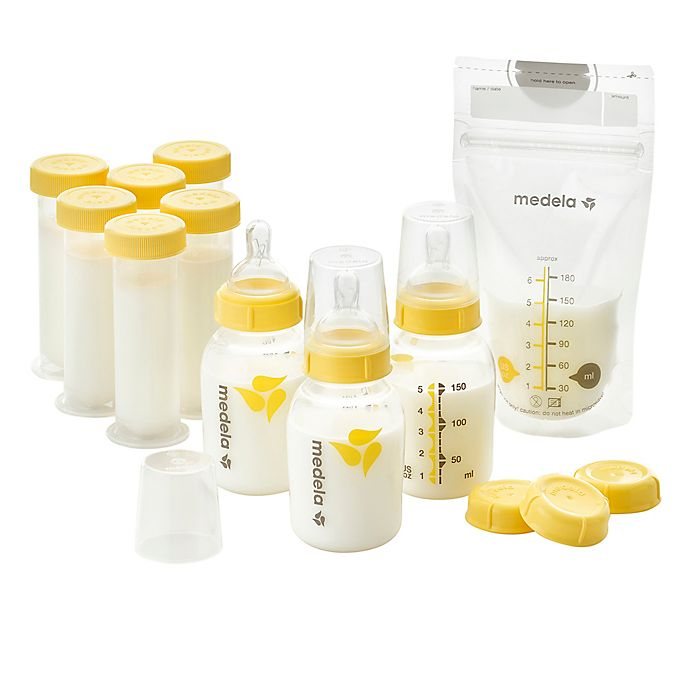 Alternate image 1 for Medela® Breast Milk Feeding Gift Set