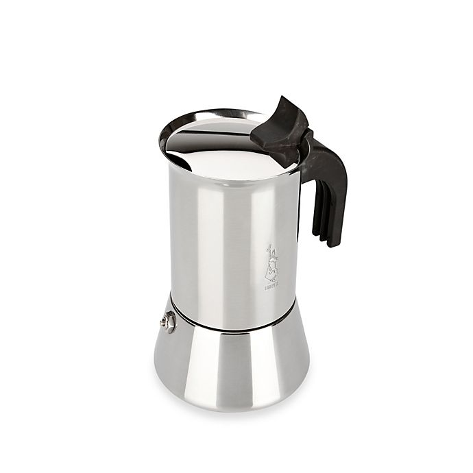 Alternate image 1 for Bialetti® Venus Stainless Steel 4-Cup Espresso Maker