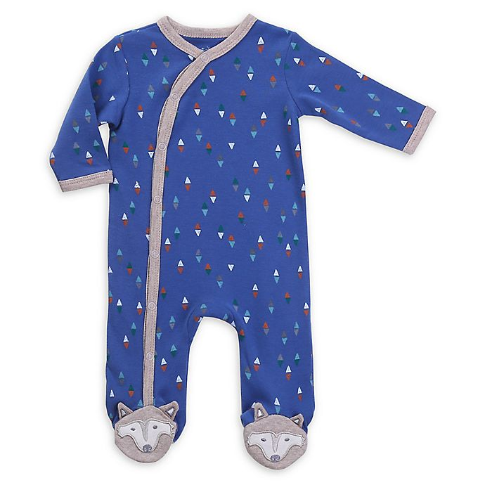 Alternate image 1 for asher and olivia® Woodland Fox Footed Pajamas