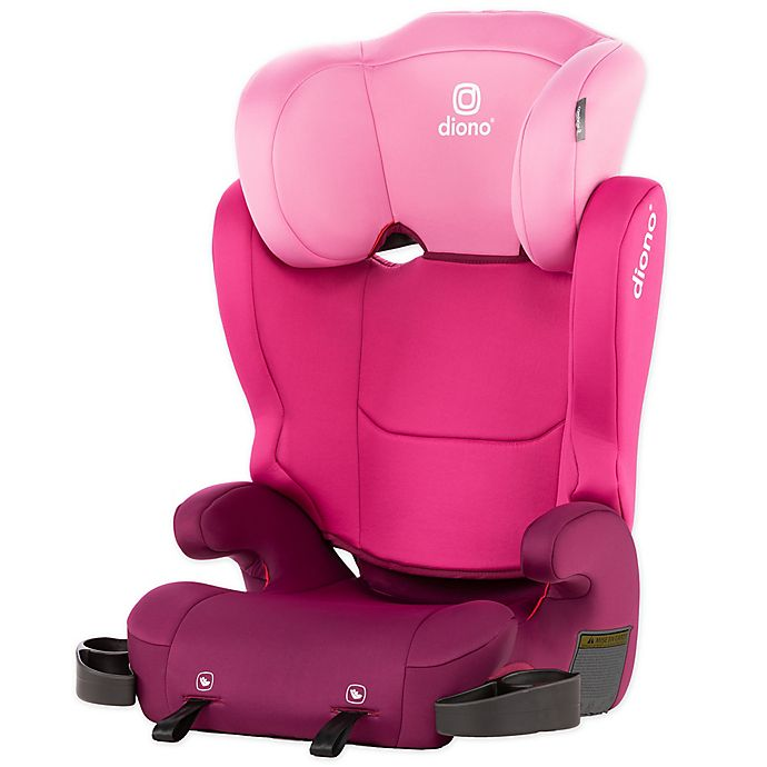Alternate image 1 for Diono™ Cambria® 2 Highback Booster Seat in Pink