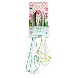 Handstand Kitchen Spring Fling Easter 2-Piece Whisk Set