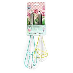 Handstand Kitchen Spring Fling Easter 2-Piece Whisk Set