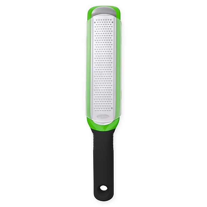 Alternate image 1 for OXO Good Grips® Etched Zester Grater in Green