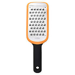 OXO Good Grips® Coarse Etched Grater in Orange