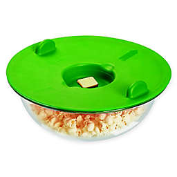 Farberware Pop-N-Steam Popcorn Veggie Steamer in Green