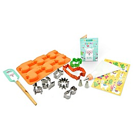 Handstand Kitchen 15-Piece Llama Love Ultimate Baking Party Set