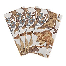Bee & Willow™ Home Reversible Autumn Floral Napkins in Natural (Set of 4)