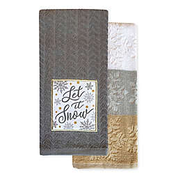 Snow Patch Kitchen Towel (Set of 2)