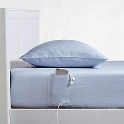 Campus Smart Cotton 250-Thread-Count Pillowcases (Set of 2)