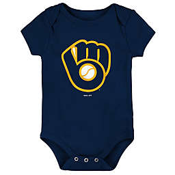 MLB Milwaukee Brewers Short Sleeve Bodysuit