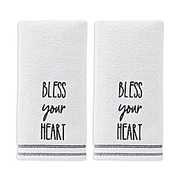 Bless Your Heart 2-Pack Hand Towel Set