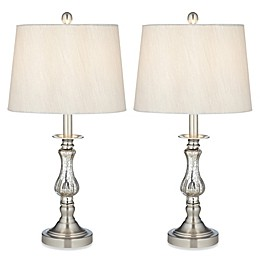 Pacific Coast® Lighting Ammolite Flute Table Lamp (Set of 2)