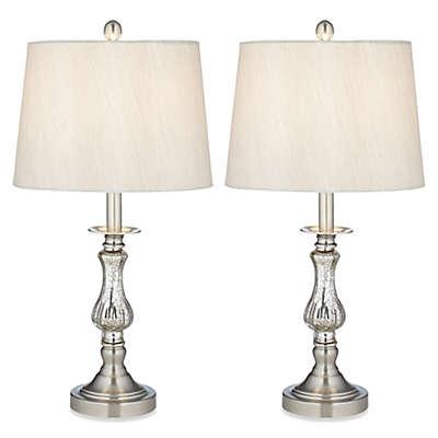 Pacific Coast® Lighting Ammolite Flute Table Lamp (Set of 2)