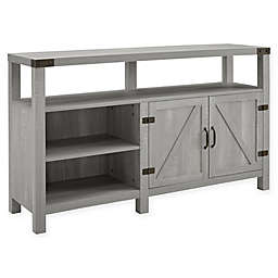 Forest Gate™ Wheatland 58-Inch TV Stand with Right Cabinet in Stone Grey