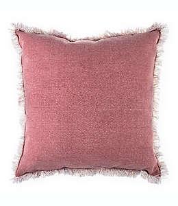 Bee & Willow™ Home Cojín decorativo cuadrado en rosado