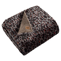 UGG® Sausalito Throw Blanket in Leopard
