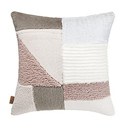 UGG® Carmel Square Throw Pillow in Natural