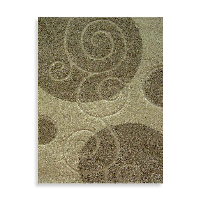 Alternate image 1 for Concord Global Trading Scroll 5-Foot 3-Inch x 7-Foot 3-Inch Rug in Ivory